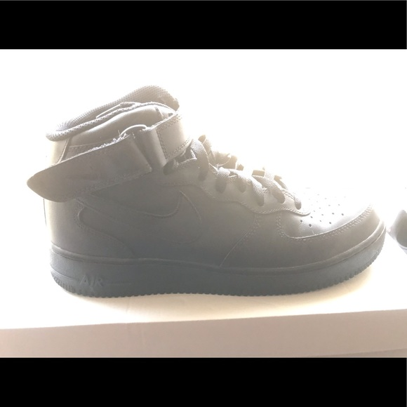 Nike Other - NIKE: Air Force One- Black on Black Mids size 9.5